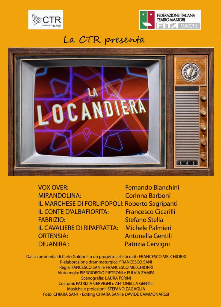 La Locandiara da Carlo Goldoni